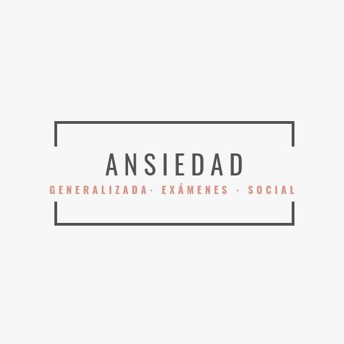 Problemas de Ansiedad tratados por Ana Fabón Rallo: ansiedad generalizada, ansiedad ante exámenes y ansiedad social.   No importa la edad, te podemos ayudar.